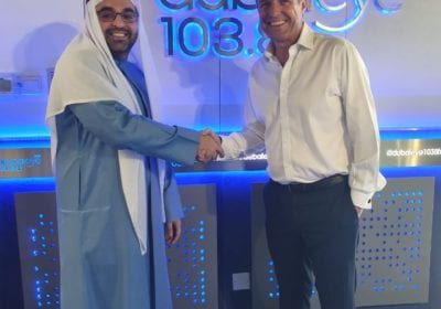 Tratok hits the airwaves and makes debut with Dubai Eye's The Agenda show